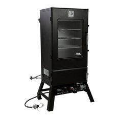 "Atlas Supply Chain - Masterbuilt 20051314 Sportsman Elite Propane Smoker, 16500 BTU, 2"" Square - Outdoor Grills"