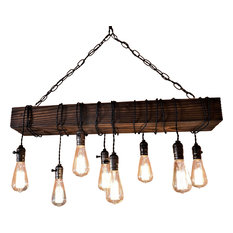 LA lights - Farmhouse Chandelier - Chandeliers