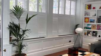 Shutters for a trendy commercial office space