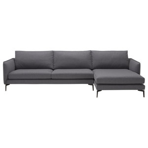 Barnaby Contemporary Corner Sofa