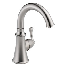 delta faucet delta cassidy traditional beverage faucet arctic stainless kitchen faucets - Delta Faucets Kitchen