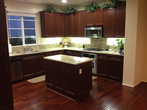 Replacing The Kitchen Island Countertop Light Or Dark