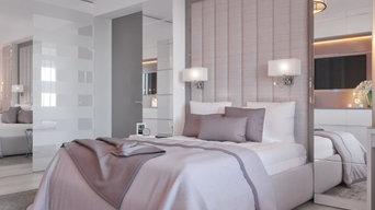 Пудровая спальня