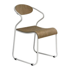 Walter Dining Chairs, White, Set of 2