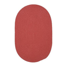 Colonial Mills, Inc - Colonial Mills Boca Raton BR78 Terracotta 11' x 11' Round - Outdoor Rugs