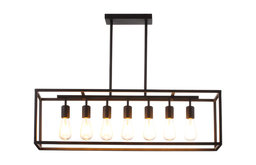 Quay Rectangular Chandelier