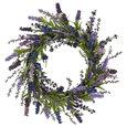 20in. Lavender Wreath