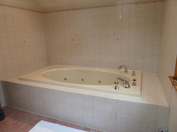 Popular Traditional Bathroom by Megan Meyers Interiors