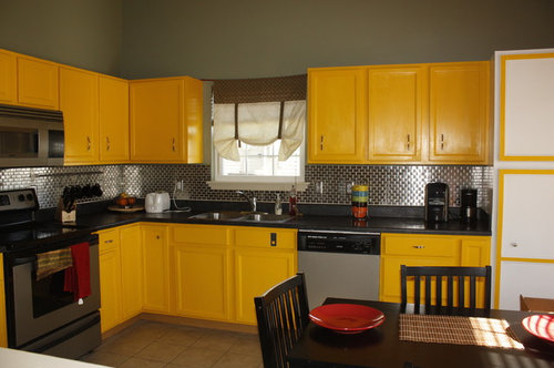 Do we need to repaint our yellow kitchen cabinets for sale ...