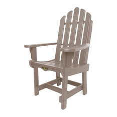 Pawleys Island Durawood Essentials Dining Chair With Arms, Weatherwood, Single C