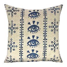 Mud Cloth Shibori Pillow