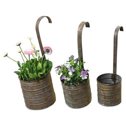 Farmhouse Outdoor Pots And Planters by Home Garden Collections