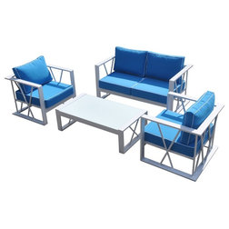 Contemporary Outdoor Lounge Sets by Vig Furniture Inc.