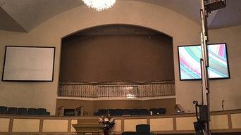 Church A/V install