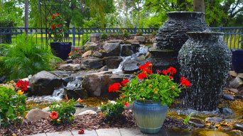 Pondless waterfall/water feature