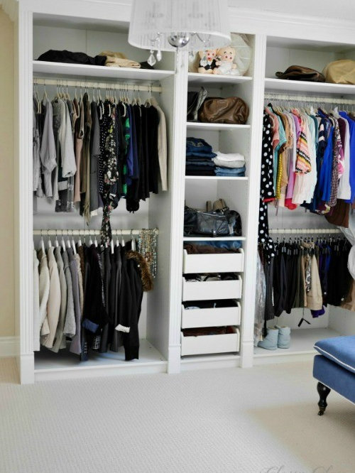 Dressing room closet hot girls wallpaper - Armoires dressing ikea ...