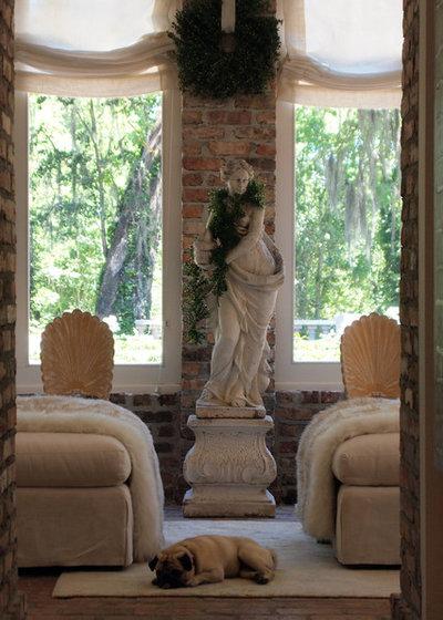 Traditional Sunroom by Kayla Stark