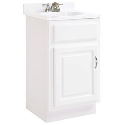 Cool Traditional Bathroom Vanities And Sink Consoles by Design House