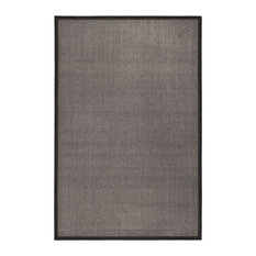 Dimas Natural Fibre Charcoal Area Rug, 180x275 cm