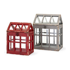 Trisha Yearwood Berry Patch 2-Piece Terrariums Set