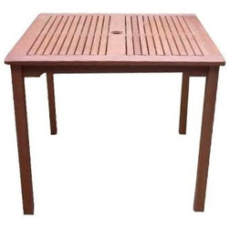 Transitional Outdoor Dining Tables by ShopLadder
