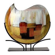 Amare Metallic Circular Vase