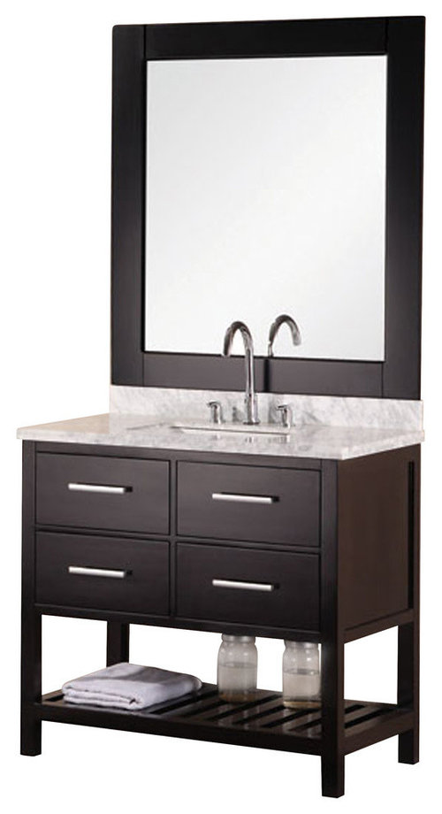 Bathroom Help With Which Light Fixure Over Round Mirror