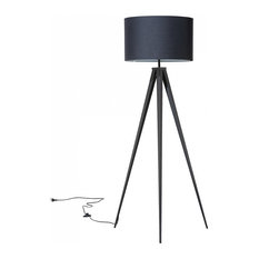 Stiletto Floor Lamp, Black