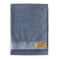 Finlayson - Reno Cotton Bath Towel, Blue - Bath Towels