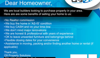 We buy houses in Conn the Greater Atlanta Area.