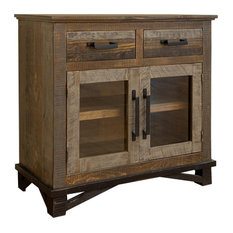 Crafters And Weavers Greenview Loft Rustic Modern Entry Cabinet