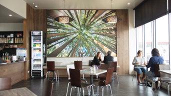 Future Cafe Colac | Custom Printed Panel Installation | Making Quiet