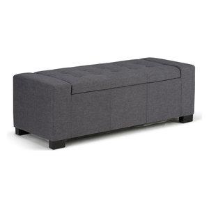 Fine Rectangular Storage Fabric Ottoman Tufted Footrest Lift Top Uwap Interior Chair Design Uwaporg