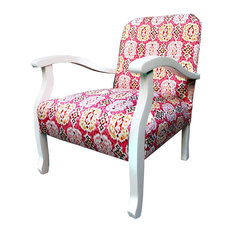 Vintage Ikat Armchair   Armchairs And Accent Chairs