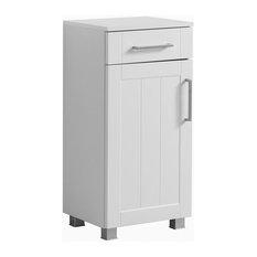 Barolo Bathroom Cabinet, Matte White