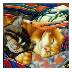 Sleeping Cats Tile