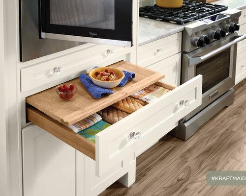 Kraftmaid microwave cabinet cabinets matttroy for Kraftmaid storage solutions