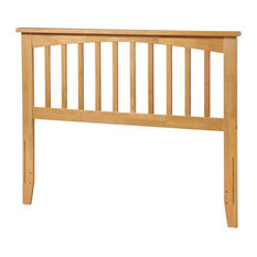 Pemberly Row Full Spindle Headboard In Natural