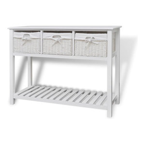 VidaXL Storage Sideboard, White