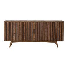 Four Hands Furniture - Hughes Danny Media Console With Tambor Doors - Media Cabinets