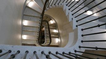 Gilston Road Cantilever Staircase
