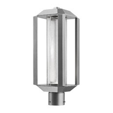 Wexford 1-Light Silver Leaf Outdoor Post Light