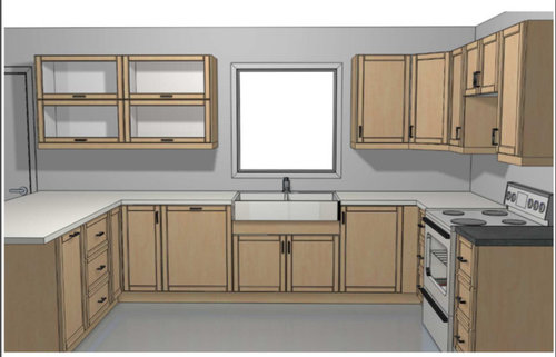 Spacing of cabinets around windows on ways to end tile under cabinets, bay window under cabinets, windows with no upper kitchen cabinets, kitchens without upper cabinets, unstained cherry cabinets, transom windows above cabinets, windows under kitchen bar, old window cabinets, built in cabinets,