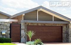 Mid Century Modern Garage Doors mid century modern exterior