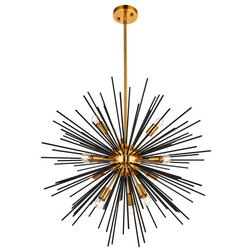 Midcentury Chandeliers by Lighting New York