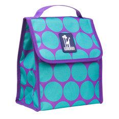 Munch'n Lunch Bag, Big Dot Aqua