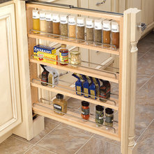 Kitchen Cabinet Accessories - an Ideabook by Traditions Cabinetry