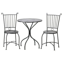 Traditional Outdoor Pub And Bistro Sets by ergode