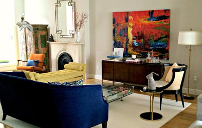 Room of the Day: Formal and Family-Friendly on the Parlor Floor