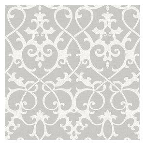 Ironwork Grey Peel and Stick Wallpaper